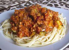 The Snarky Chickpea: Spectacular Vegan Spaghetti with TVP