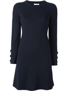 A-line knitted dress