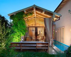 Contemporary Porch Design, Pictures, Remodel, Decor and Ideas - page 13