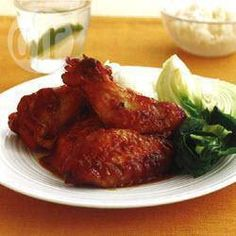 Ginger and hoisin chicken wings @ allrecipes.com.au
