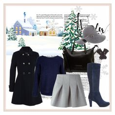"""""""Winter.."""" by sselma ❤ liked on Polyvore featuring Miss Selfridge, T By Alexander Wang, Marc by Marc Jacobs, Geox and Eugenia Kim"""