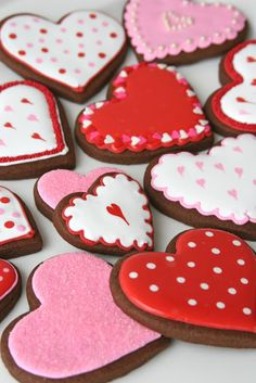 Chocolate Rolled Valentine Cookies