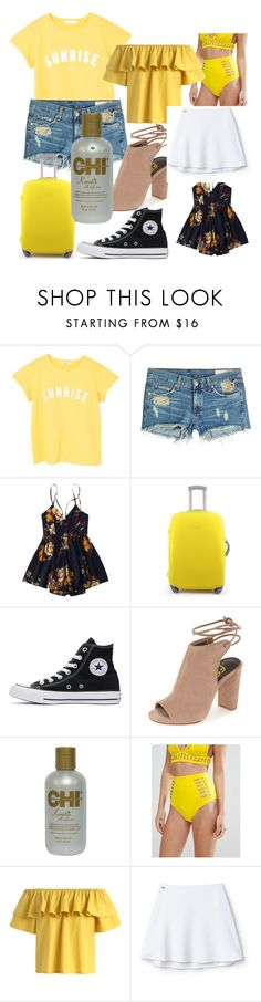 """""""Road Trip!"""" by julia-boe ❤ liked on Polyvore featuring MANGO, rag & bone, Converse, ASOS, Chicwish and Lacoste L!VE"""