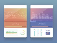 Dribbble - UI Widgets by Balraj Chana