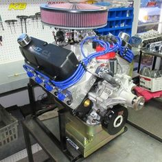 347 Ford Stroker Full Roller Crate Engine With 480 HP