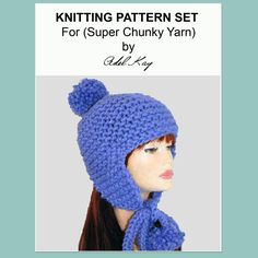 Sibeal Ear Flap Hat Knitting Pattern
