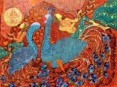 Seema Kohli- Kaumari, mix medium on canvas