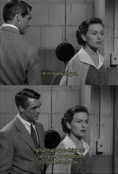 People will talk 1951 - Cary Grant & Jean Crane Classic Movie Quotes, Classic Movies, Old Movie Quotes, Famous Movie Quotes, Cary Grant, Lauren Bacall, Classic Hollywood, Old Hollywood, Kurt Cobain Frases