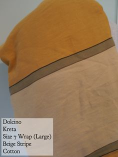 BWI of DC-MD-VA: Dolcino Kreta Cotton Beige Size 7 Size 7