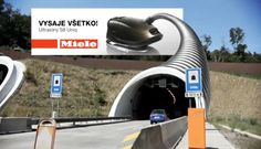 Did you see that? A Billboard that 'sucks' the cars to promote the power of a vacuum cleaner!