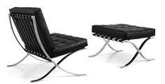 Mies Van Der Rohe – Barcelona chair is iconic in furniture design