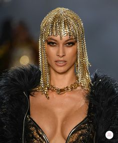Jewelry details from The Blonds RTW FW19 collection