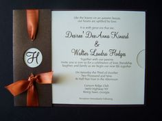 handmade fall wedding invitations | Fall Wedding Invitation | Invitation Templates