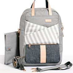 Gadikat Diaper Backpack - Dani Collection Ashen, Compleme...