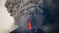 12/02/2015 - Volcano in Nicaragua Erupts Causing Thousands to Evacuate - the Momotombo volcano spewed lava, ashes and smoke prompting authorities to evacuate at least four miles.