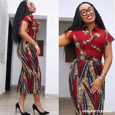 5 Ankara Corporate wear styles to rock to work on Monday – BeeInspired African Fashion Ankara, African Inspired Fashion, Latest African Fashion Dresses, African Dresses For Women, African Print Dresses, African Print Fashion, African Attire, African Wear, Africa Fashion