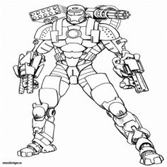Free Printable Iron Man Coloring Pages For Kids | smokey Joe | Snowman coloring pages, Superhero ...