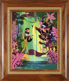 hawaiian artists paintings | Mark Swanson's retro modern tiki art | Ken Kanaka's Tiki Talk