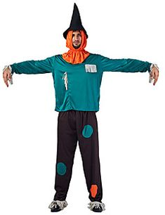 Čarobnjak Cosplay Nošnje Mužjak Halloween Festival / Praznik Halloween kostime Zelen Halloween