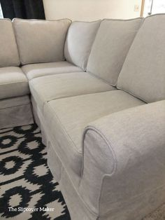 Linen And Cotton With Subtle Texture. Works Up Great In A Rustic, Casual  Slipcover