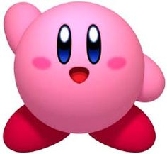 Kirby waving to you from the Kirby's Dream Collection -- Click the pic and view over 21,000 game trailers, Most in HD