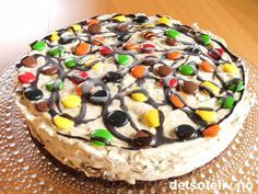 """Non Stop"" iskake ~ En av mine mest populære iskaker! Norwegian Food, Norwegian Recipes, Pudding Desserts, Creative Food, Doughnut, Nom Nom, Cake Recipes, Cheesecake, Food And Drink"