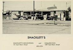 Shacklett's Restaurant; 1964 MTSU Yearbook
