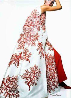 Couture Allure Vintage Fashion: Valentino Cape, 1969