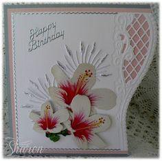 Cardmaking Online: Marianne Design Creatables LR0202 Card - Sharon Blaxter
