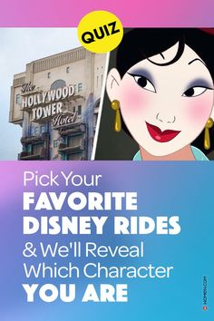 Take this fun personality quiz and find out which Disney character you are by telling us which Disney rides are your favorite! #disney #disneyquiz #disneyride #whoareyou #personalityquiz #disneyQuiz