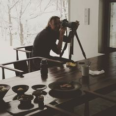 We're shooting the exquisite @zaborin.ryokan in #Hokkaido #Japan this week. It's a beautiful modernisation of a traditional #ryokan deep in the woods. One of the snowiest pkaces on earth! #snowgram #travelphotographer #mrandmrsamos