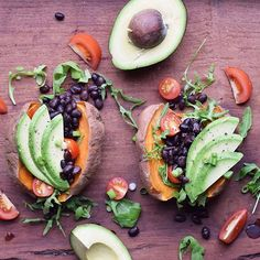 Craving some fully-loaded sweet potatoes by @plantbased_pixie right about now. What are you having for dinner? - #behealthybesuperbeYOU #sunfood #dinner #lunch #sweetpotato #vegan #superfoods #veganfoodshare #vegansofig #whatveganseat #healthy #healthyfood #yummy #eatclean #cleaneating #igers #instadaily #igdaily #instafood #feedfeed #fitfam #bbg #paleo #tiuteam #treatyoself #plantbased #foodie #foodshare #vegetarian #glutenfree
