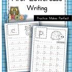 Handwriting - FREE Practice Makes Perfect {Lowercase Letters}  I have made these lowercase handwriting practice sheets to address the Pre-K and Kin...