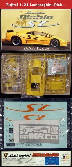 Cool Lamborghini: Fujimi 1/24 Lamborghini Diablo SV 1996 deluxe version with etched parts. It'...  Action Figures, Action Figures & Statues, Toys & Games Check more at http://24car.top/2017/2017/04/09/lamborghini-fujimi-124-lamborghini-diablo-sv-1996-deluxe-version-with-etched-parts-it-action-figures-action-figures-statues-toys-games/