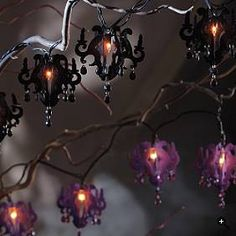 Halloween Chandelier String Lights review at Kaboodle