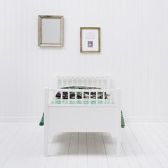 White Children's Bed by Oliver Furniture | Nubie - Modern Baby Boutique