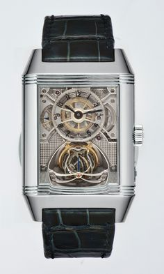 Watches AEGER LECOULTRE REVERSO GYROTOURBILLON 2 PLATINUM