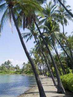 Waikaloa Beach, Island of Hawaii (Big Island), Hawaii. #beach #hawaii