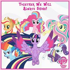 My little pony. Friendship is magic picture.