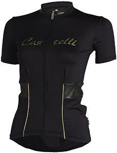 0d19f276a Castelli Coco Full-Zip Short Sleeve Womens Jersey Road Bike Jerseys
