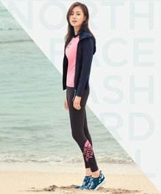 Kang So Ra is a total hottie for the summer collection of 'The North Face' | allkpop.com