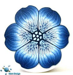 Blue flower cane | Flickr - Photo Sharing!