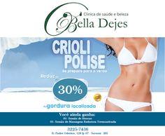 Bella Dejes Clínica de Saúde e Beleza: Oportunidade!!!