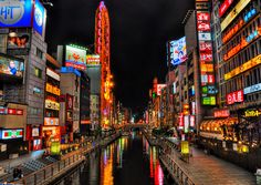 Osaka, Japan. Cancelled trip by the earthquakes and tsunami. Someday I will have my redemption.