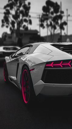 Lamborghini Aventador Sportscar Dark #iPhone #6 #wallpaper