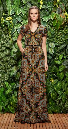 Só na Antix Store você encontra Vestido Longo Maracas Cubanas com exclusividade na internet