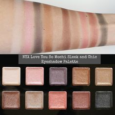 NYX Love You So Mochi Eyeshadow Palettes – Review & Swatches