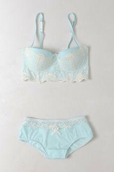 """""""Something blue"""" bridal lingerie"""