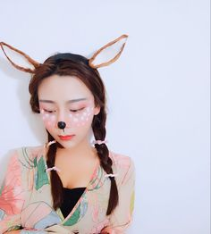 Halloween Women Antlers Buckhorn Hairbands Headwear Hair Head Accessories Women