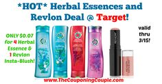 LOVE this deal!!! Be sure to print your coupon now, and head to Target through 3/15! This insta-blush is regularly $9.99!!! *HOT* Herbal Essences and Revlon Deal @ Target!  Click the link below to get all of the details ► http://www.thecouponingcouple.com/hot-herbal-essences-and-revlon-deal-target/ #Coupons #Couponing #CouponCommunity  Visit us at http://www.thecouponingcouple.com for more great posts!